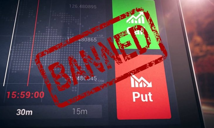 Why binary options banned